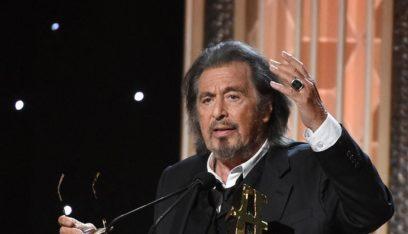 آل باتشينو يفوز بهذه الجائزة العالمية