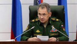الدفاع الروسية: شويغو بحث الوضع في ليبيا مع المشير خليفة حفتر