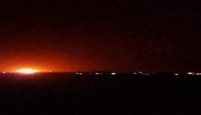 سماع دوي انفجارات قرب مطار دمشق