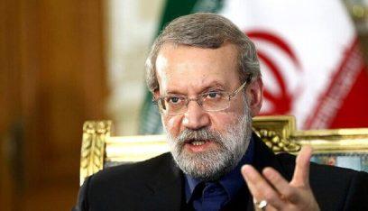 لاريجاني: النفط السوري ملك للشعب والحكومة ولا يحق لأميركا السيطرة عليه وسرقته