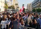 انطلاق تظاهرة الطلاب في صيدا