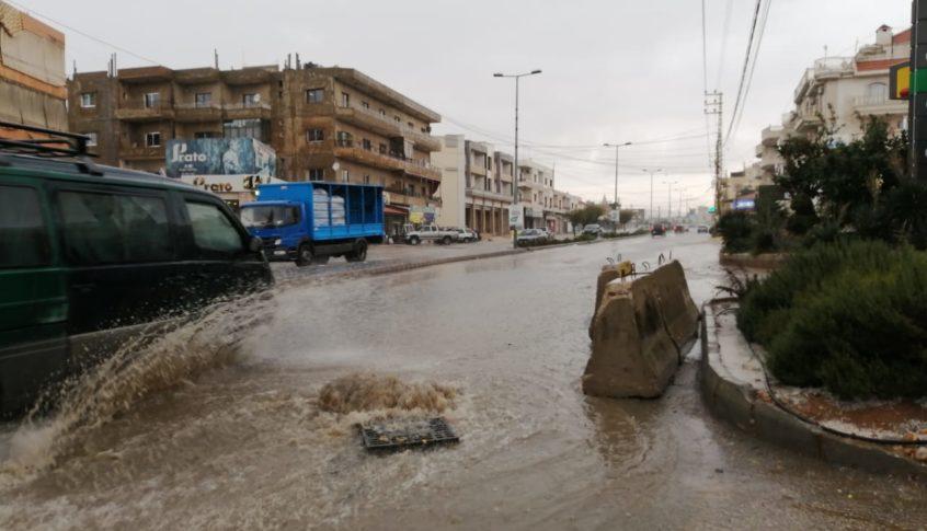 وزارة الاشغال: الورش الفنية بأعلى الجهوزية لتأمين انسياب مجاري الامطار