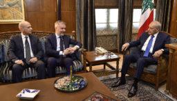 بري استقبل وزير الدفاع الايطالي وعرض الاوضاع مع 3 سفراء ومطر