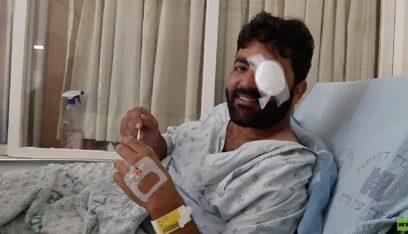 المصور الفلسطيني معاذ عمارنة يخضع لعملية جراحية