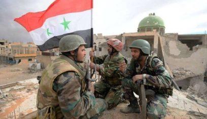الجيش السوري يوسع انتشاره في ريف الحسكة باتجاه الرقة