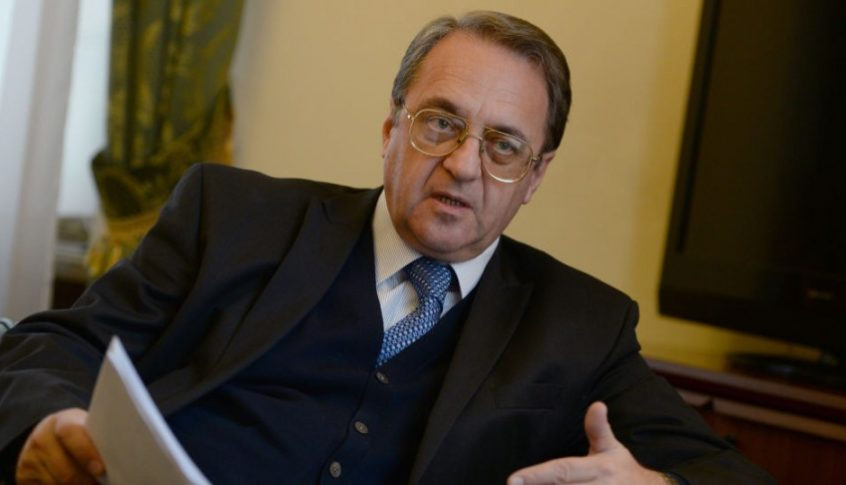 بوغدانوف أكد موقف روسيا الداعم لوحدة وسيادة واستقلال لبنان