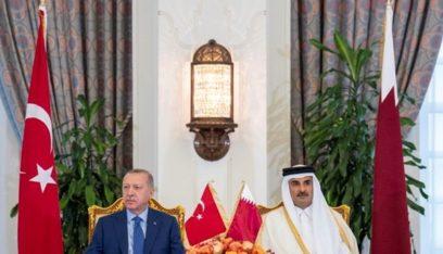 أنقرة ترفع سقف مبادلة العملة بين بنكي تركيا وقطر المركزيين
