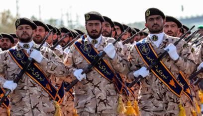 حرس الثورة الايراني يلقي القبض على قادة أعمال الشغب في شيراز