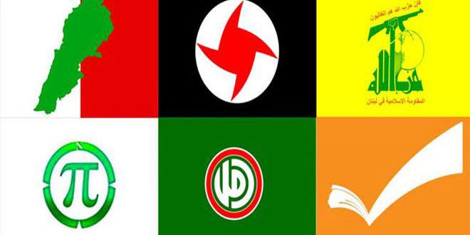 لقاء الأحزاب: اللجوء إلى استعمال الطوائف في الاستحقاقات الدستورية والوطنية خطير