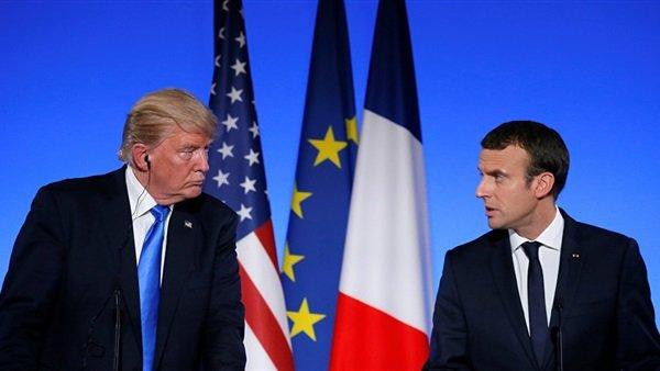 ترامب وماكرون يؤكدان مجددا التزامهما التنسيق بشأن سوريا