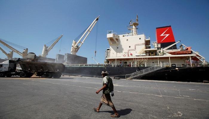 الحوثيون يفرجون عن سفينتين كوريتين جنوبيتين