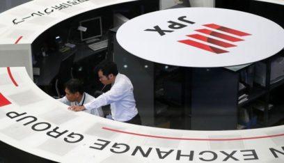 انخفاض الأسهم اليابانية