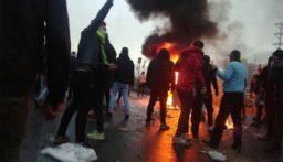 منظمة العفو الدولية ترفع الى 304 حصيلة قتلى الاحتجاجات في ايران