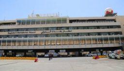 عودة الحركة لمطار بغداد الدولي بعد توقفها لساعات