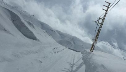 اليكم الطرقات المقطوعة بسبب تراكم الثلوج