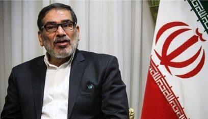 شمخاني: غالبية ضحايا احتجاجات طهران قتلوا بأسلحة غير حكومية