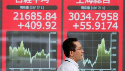 أسهم اليابان تصعد بفضل بيانات أميركية قوية لكن مخاوف الصين تكبحها