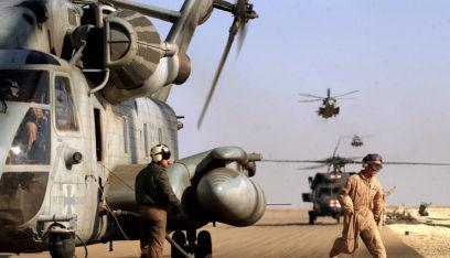 وصول 500 آلية عسكرية أميركية إلى قاعدة عين الأسد في الأنبار