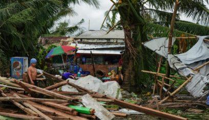"""إعصار """"فانفون"""" يودي بحياة 16 شخصاً على الأقل في الفلبين"""