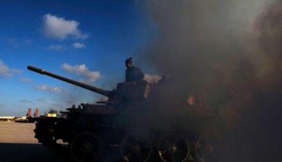 الجيش الوطني الليبي يسيطر على مقر رئاسة الأركان على طريق المطار في طرابلس