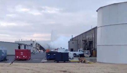 إصابة أكثر من 12 شخصاً في انفجار بمصنع طائرات بولاية كانساس