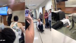 بالفيديو: طالبة تحول أستاذها الستيني لنجم يتابعه الملايين!