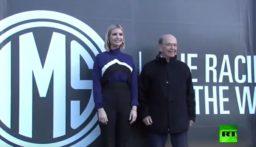 بالفيديو: إيفانكا ترامب تظهر مهاراتها في سباق السيارات