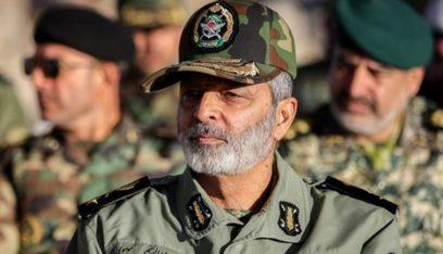 قائد الجيش الايراني: بامكان الاعداء ان يختبروا مدى تطور اسلحتنا