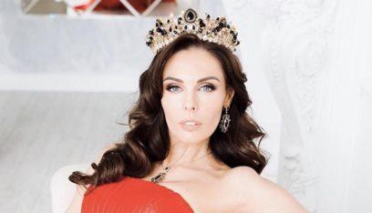 """بالصور: الروسية """"كسينيا كريفكو"""" ملكة جمال العالم للمتزوجات"""