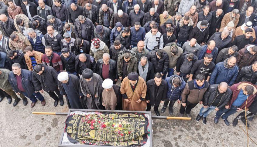 اهالي علي النهري دانوا جريمة قتل حسين المذبوح وطالبوا بملاحقة ومحاكمة الفاعلين وتسيير دوريات في البلدة