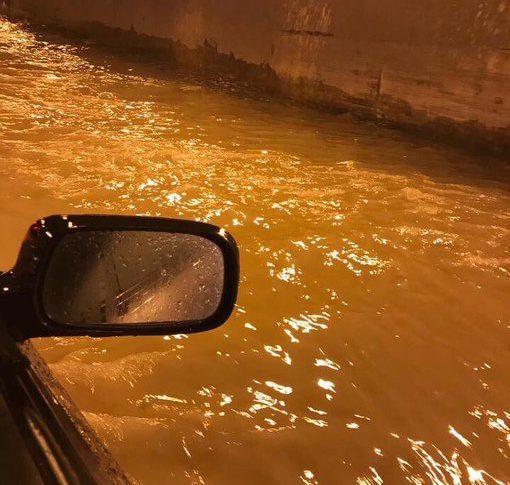 نفق الكوستا برافا غرق بالمياه