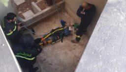سقوط مواطن عن علوّ يقارب 3 أمتار في عجلتون