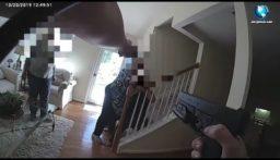 بالفيديو: شرطية تخطئ الإصابة وتطلق النار على والدة المشتبه به!