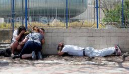 الهلال الأحمر: إصابة 13 فلسطينيا بالضفة باحتجاجات على الخطة الأميركية