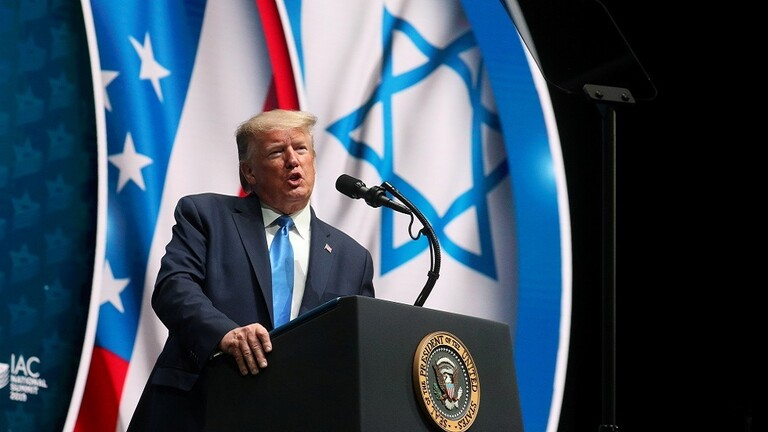 ترامب: كل التقارير حول تفاصيل وتوقيت إعلاننا عن خطة السلام بين الفلسطينيين والإسرائيليين تكهنات