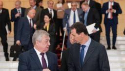 الخارجية الروسية: الأسد بحث في دمشق مع مسؤولين روس القضاء على بؤر الإرهاب في سوريا