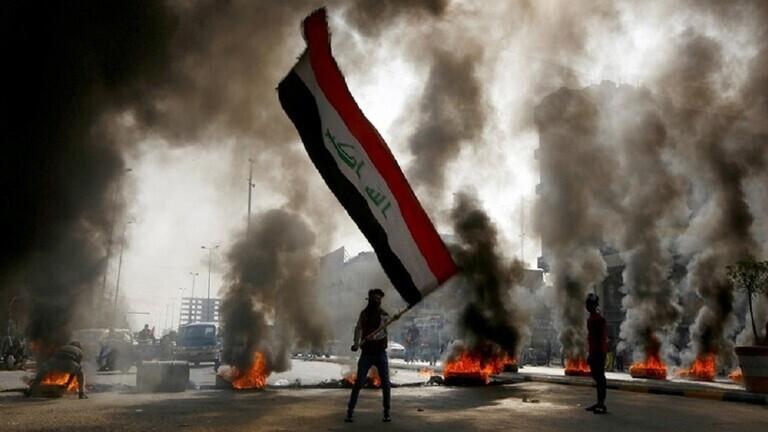 تجدد الاشتباكات بين قوات الأمن والمتظاهرين وسط بغداد