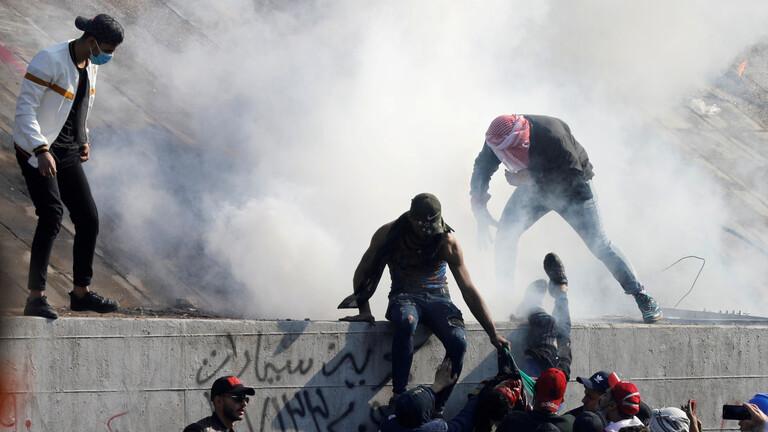 ا ف ب نقلاً عن مصادر طبية عراقية: 4 قتلى من المتظاهرين بالرصاص الحي في العراق