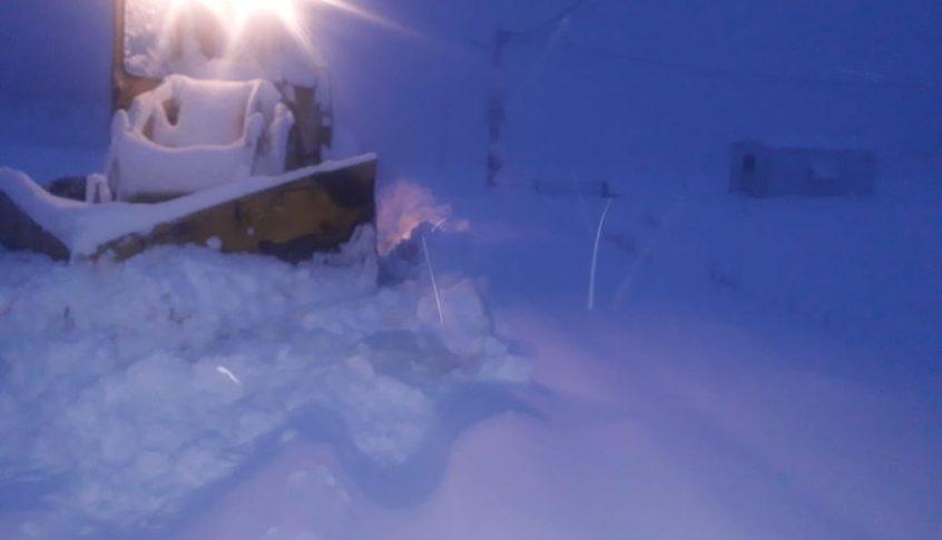الثلوج قطعت طرقاً في محافظة عكار