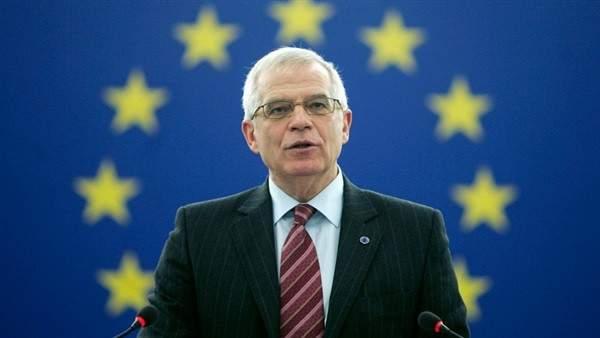 بوريل: سنعيد التركيز على قضية حظر توريد الأسلحة إلى ليبيا