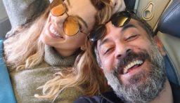 دانا حلبي تنشر فيديو… فهل فعلاً تمت خطوبتها على عبد المنعم عمايري؟!