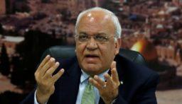 """عريقات: أي صفقة تتنكر لاحتلال """"إسرائيل"""" لفلسطين ستدخل التاريخ كـ""""احتيال القرن"""""""