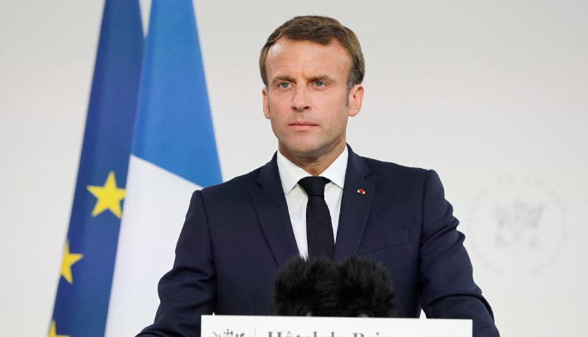 """ماكرون: إرسال مقاتلين سوريين موالين لتركيا إلى ليبيا يجب أن """"يتوقف"""""""