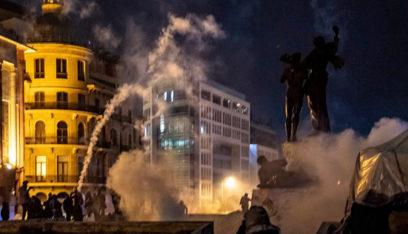 عودة المواجهات في شارع بلدية بيروت