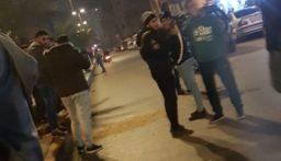 سقوط جريح خلال قطع اوتوستراد البداوي عند مفرق الأكومة