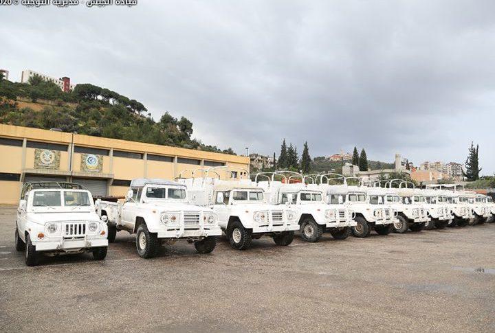 بالصور: الجيش تسلم 15 آلية مقدمة هبة من السلطات الكورية