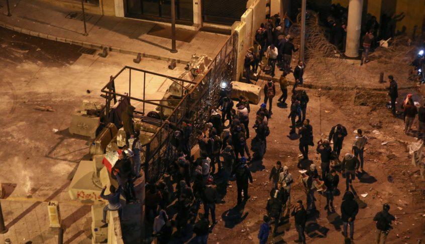 هدوء حذر في وسط بيروت