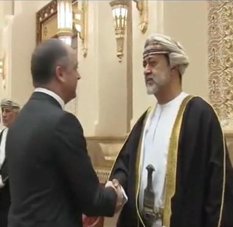 بو صعب قدم التعازي باسم رئيس الجمهورية الى سلطان عمان بوفاة السلطان قابوس