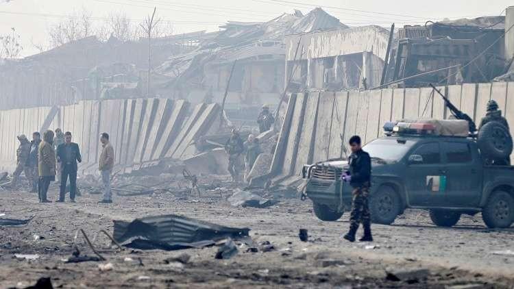 إصابة 4 جنود أفغان في هجوم صاروخي على مروحيتهم العسكرية
