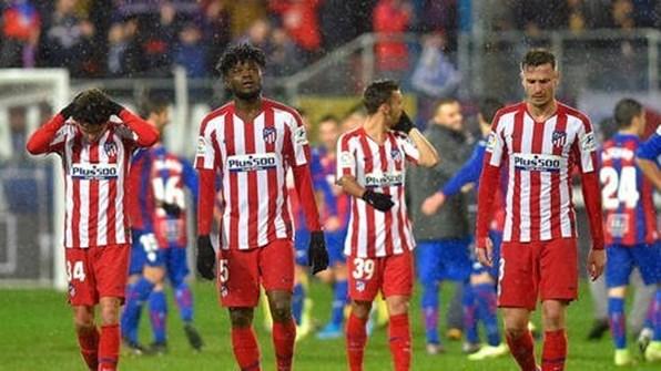 خسارة مفاجئة لأتلتيكو مدريد